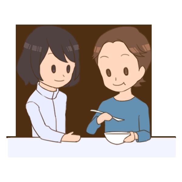 04_自助具を利用して食べる練習