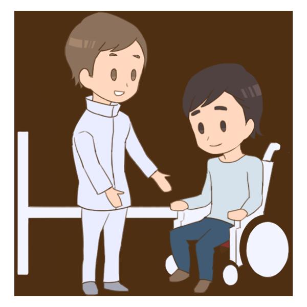 05_車椅子からベッドへ乗り移る練習